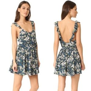 Free People Dear You Floral Minidress